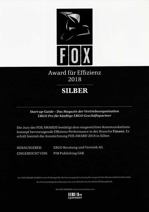 FOX Awards 2018, Silber