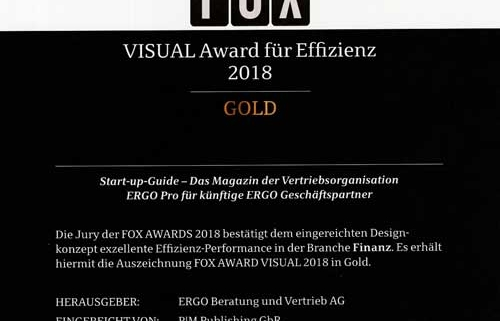 FOX Awards 2018, Gold