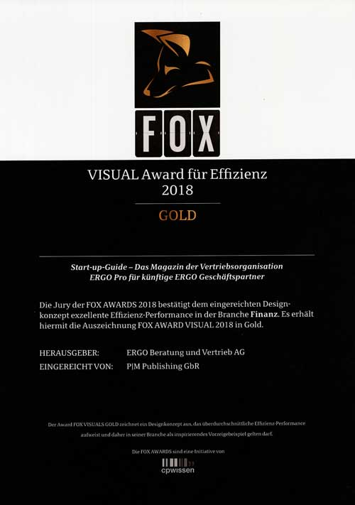 FOX Awards 2018, Gold