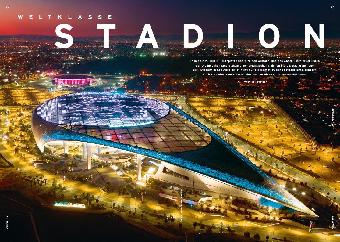 Auftaktseite SoFi Stadium
